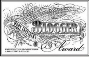 V inspiring blogger