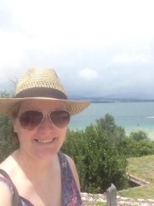 Enjoying Lake Garda