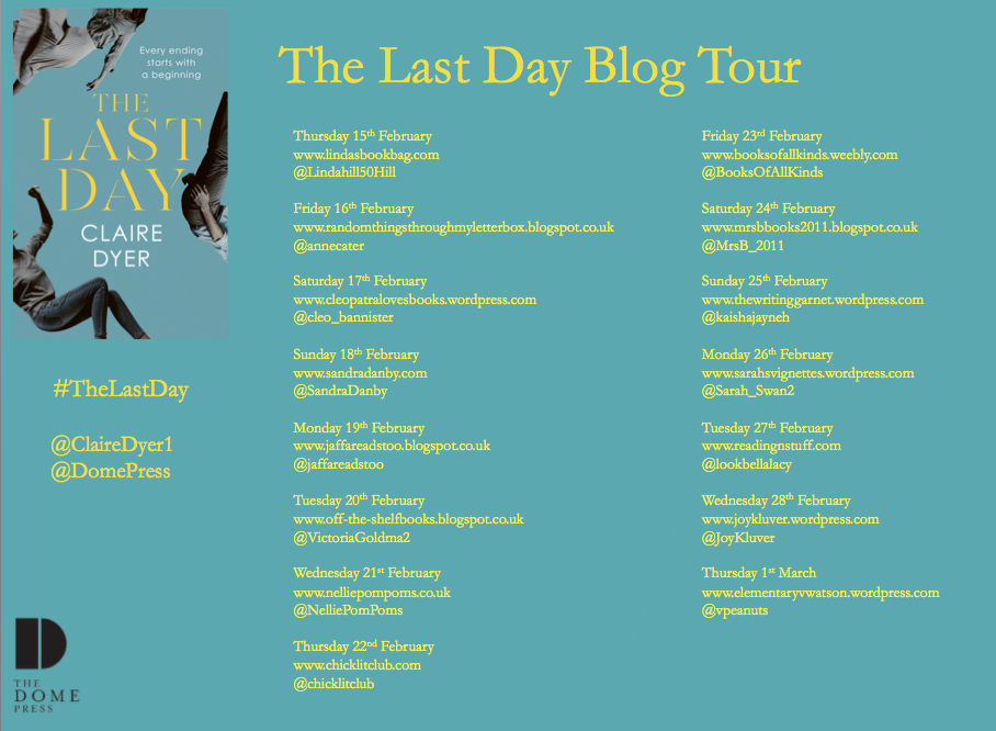Last Day Blog Tour