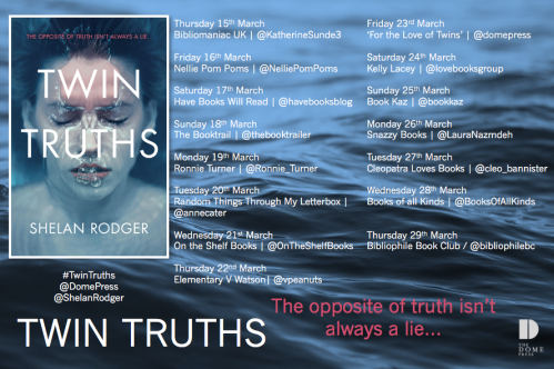 Twin Truths Blog Tour Poster