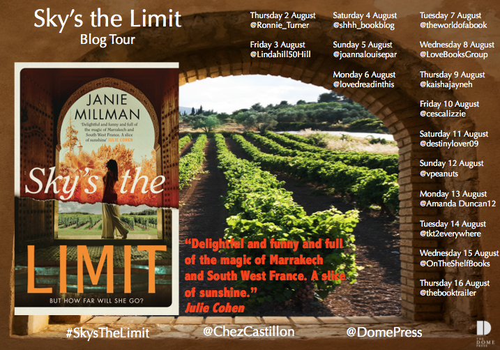 Sky's the Limit Blog Tour Poster