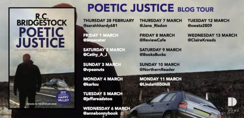 Poetic Justice Blog Tour Poster