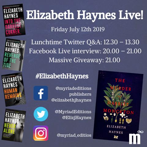 EHaynes paperback launch Instagram